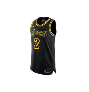 newest 6b70d 03b0a Nike NBA Los Angeles Lakers Authentic Jersey Lonzo Ball City Edition