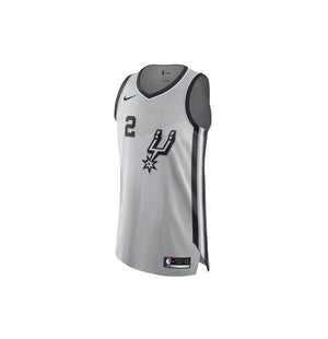 Nike NBA San Antonio Spurs Authentic Jersey Kawhi Leonard Alternate