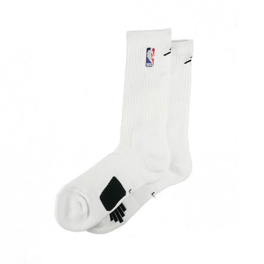 Jordan NBA Crew Socks White/Black