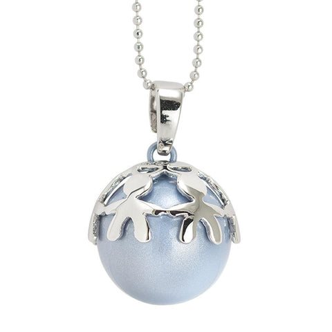 Necklace with boule heavenly sound and bowl with children