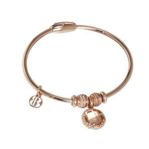 Bracelet with charm ini Crystal fishing