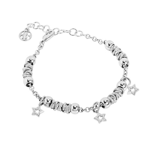 Bracelet beads with smooth stars