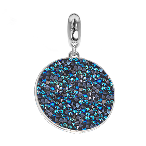 Charm with carpet Swarovski bermuda blue