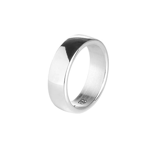 Mantuan silver ring with a wide surface