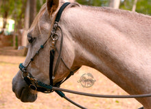 Load image into Gallery viewer, 3in1 Comfort Bitless Bridle; Grey Spirit
