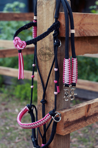 3in1 Bitless Bridle; Ember