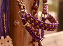Load image into Gallery viewer, Fairytale Bridle - Purple Cowgirl