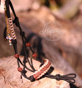 Accessory Halter - Brown