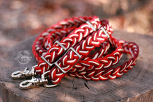 Load image into Gallery viewer, Braided Reins - Red Velvet