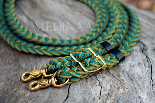 IN STOCK Braided Reins - Al Shaqab - 9ft