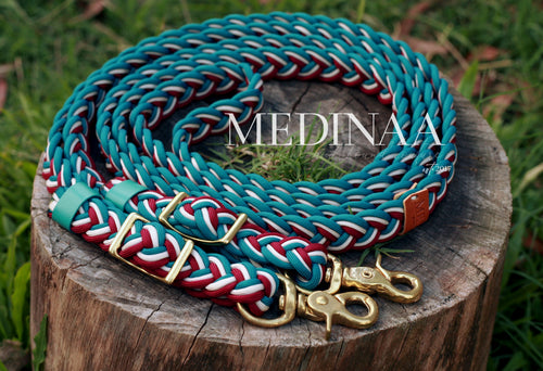 Braided Reins - Nazeer