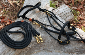 Comfort Bitless Bridle - Black