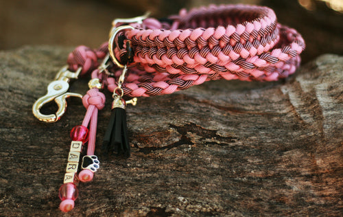 Dog Collar - Midnight Rose - Original