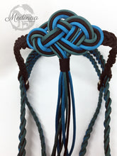 Load image into Gallery viewer, Fairytale Bridle - Caribbean/Teal/Black