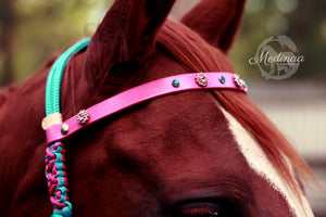 Hackamore Style Bitless Bridle; Ophelia