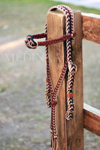 Load image into Gallery viewer, Fairytale Bridle with Bitless Noseband Converter - Chocolate Ebony