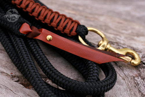 Lead Rope - Black/Chocolate