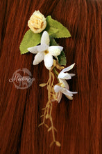 Load image into Gallery viewer, Floral Mane Clip - Ivory