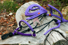 Load image into Gallery viewer, 3in1 Bitless Bridle - Purple