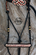Load image into Gallery viewer, IN STOCK Hackamore Style Bitless Bridle - Monisa - Full