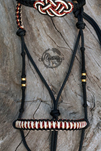 IN STOCK Hackamore Style Bitless Bridle - Monisa - Full