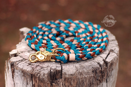 Round Braided Reins - Cowgirl