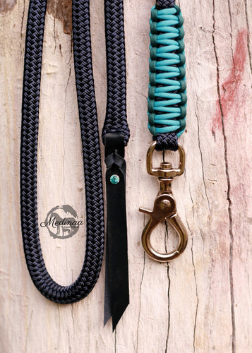 Lead Rope - Navy/Turquoise/Teal