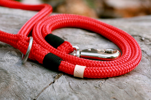 IN STOCK - Dog Leash - Red - Heavyweight