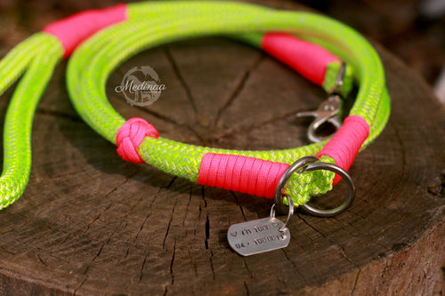 ID Collar - Neon Mint