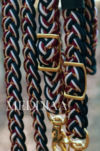 Braided Reins - Monisa