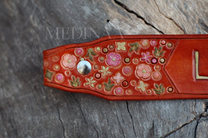 Leather Noseband - Blume