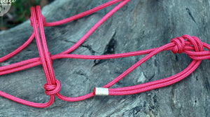 Natural Rope Halter and 12ft Training Rope