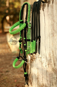 3in1 Bitless Bridle - Mint