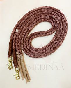 Rope Reins - Chocolate