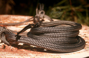 Natural Rope Halter and 8ft Lead Rope