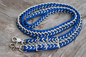 Braided Reins - Royalty