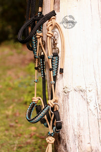 3in1 Comfort Bitless Bridle; Mexican Rodeo