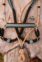 Load image into Gallery viewer, 3in1 Comfort Bitless Bridle; Mexican Rodeo