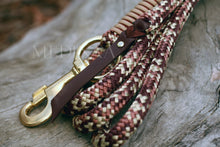Load image into Gallery viewer, Halter Set - Burgundy/Brown