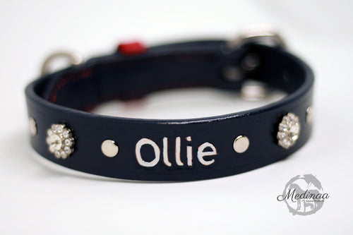 Luxury Dog Collar - Oxford