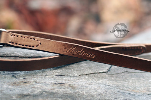 IN STOCK Leather Dog Leash - Windsor