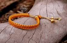 Load image into Gallery viewer, Macrame Bracelet; Sunshine