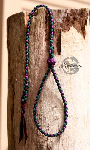 Quirt - Wrist Strap - Teal/Purple