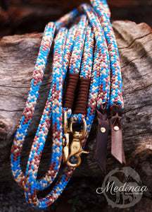 Split Reins - Cowgirl/Walnut