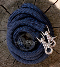 Load image into Gallery viewer, Rope Reins - Navy