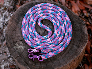 Rope Reins - Purple Unicorn