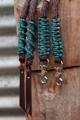 Split Rope Reins - SE Antique Abyss