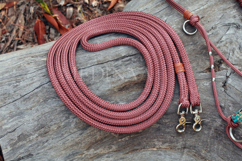 Rope Reins - Brown