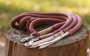 Split Reins - Brown/Beige