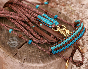 Hackamore Style Bitless Bridle; Caribbean Dust